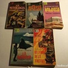 Libros: LOTE 5 LIBROS DE ENCICLOPEDIA POPULAR ILUSTRADA. Lote 121808603