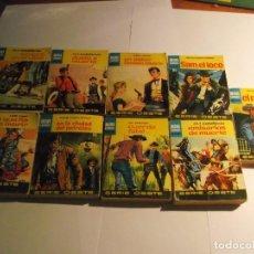 Libros: LOTE 9 LIBROS DE MINI LIBROS BRUGUERA. Lote 121808759
