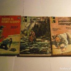 Libros: LOTE 3 LIBROS DE KANSAS. Lote 121808859