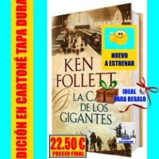 Libros: LA CAÍDA DE LOS GIGANTES - KEN FOLLETT - TRILOGÍA DEL SIGLO - THE CENTURY - TAPA DURA - NUEVO. Lote 121868983