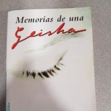 Libros: MEMORIAS DE UNA GEISHA DE ARTHUR GOLDEN. Lote 133488706
