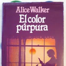 Libros: LIBRO EL COLOR PÚRPURA. Lote 133668143