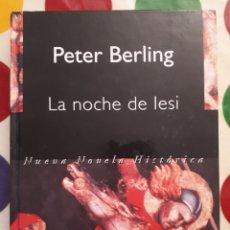 Libros: LIBRO LA NOCHE DE LESI. Lote 133969797