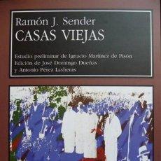 Libros: SENDER, RAMÓN J. CASAS VIEJAS. 2004.. Lote 137505490