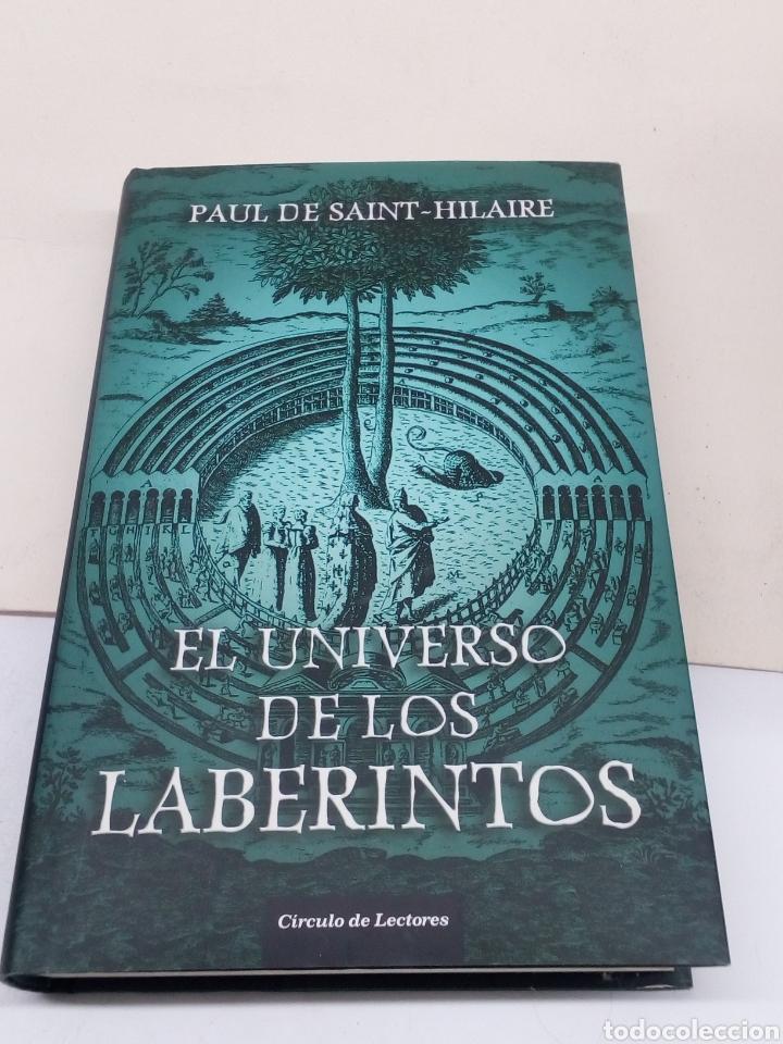 LIBRO EL UNIVERSO DE LOS LABERINTOS (Libros Nuevos - Narrativa - Novela Histórica)