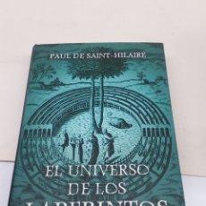 Libros: LIBRO EL UNIVERSO DE LOS LABERINTOS. Lote 139525810