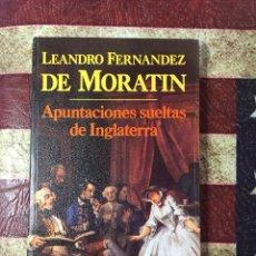 Libros: APUNTACIONES SUELTAS DE INGLATERRA. Lote 141897488