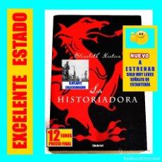 Libros: LA HISTORIADORA - KOSTOVA, ELISABETH VAMPIROS DRACULA HISTÓRICO VLAD TEPES UMBRIEL 2005 - NUEVO 12 €. Lote 143344366