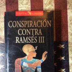 Libros: LA CONSPIRACIÓN CONTRA RAMSÉS III. Lote 144301869