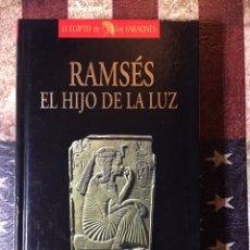 Libros: RAMSÉS HIJO DE LA LUZ. Lote 144302512