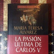 Libros: LA PASIÓN ÚLTIMA DE CARLOS V. Lote 144303056