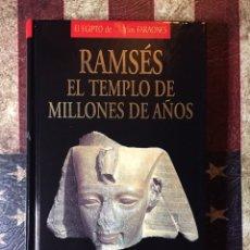 Libros: RAMSÉS EL TEMPLO DE MILLONES DE AÑOS. Lote 144342589