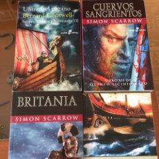 Libros: LOTE 4 LIBROS DE NOVELA HISTÓRICA. Lote 147564016