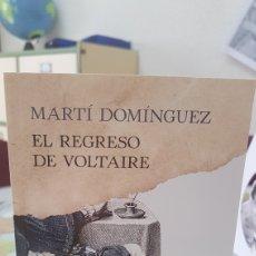 Libros: EL REGRESO DE VOLTAIRE. Lote 152053105