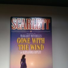 Libros: SCARLETT - GONE WITH THE WIND - THE SEQUEL. Lote 152135169