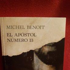 Libros: EL APÓSTOL NÚMERO 13. Lote 152396762