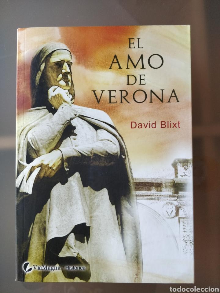 EL AMO DE VERONA, DAVID BLIXT, ED. VIAMAGNA (Libros Nuevos - Narrativa - Novela Histórica)