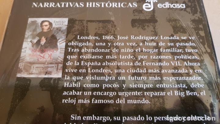Libros: EL RELOJERO DE LA PUERTA DEL SOL / EMILIO LARA / ED: EDHASA-2017 / PRECINTADO. - Foto 2 - 158519154