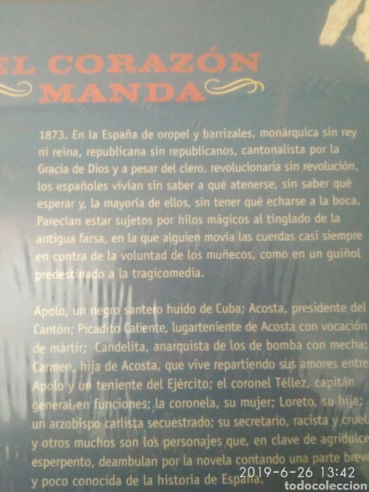 Libros: EL CORAZÓN MANDA JOSÉ LUIS MATILLA ROPA EDITORIAL HISTÓRICA. NUEVO PRECINTADO - Foto 3 - 169409264
