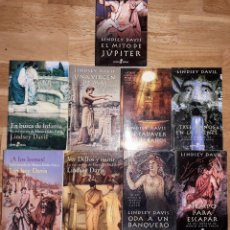 Libros: LOTE DE 9 NOVELAS EN TAPA BLANDA DE LINDSEY DAVIS VER FOTOS TODAS EN BUEN ESTADO. Lote 169469189