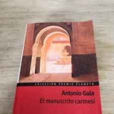 Libros: EL MANUSCRITO CARMESÍ. Lote 172686055