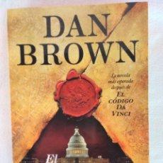 Libros: DAN BROWN. Lote 176082993