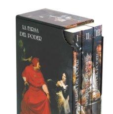 Libros: LA FARSA DEL PODER. 3 VOLÚMENES EN ESTUCHE. (FCO. FERNÁNDEZ PARDO) 2016. Lote 178133014