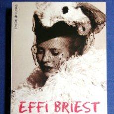 Libros: EFFI BRIEST. TEODOR FONTANE. NUEVO. Lote 180137711