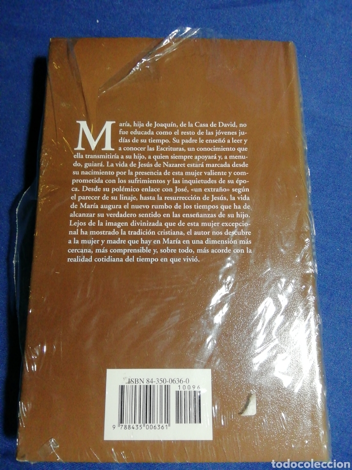 Libros: NUEVO EN EL PLÁSTICO. MARÍA UNA VIDA EXCEPCIONAL. SHOLEM ASCH. TAPA DURA - Foto 2 - 180147983