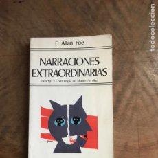 Libros: NARRACIONES EXTRAORDINARIAS. Lote 180407348
