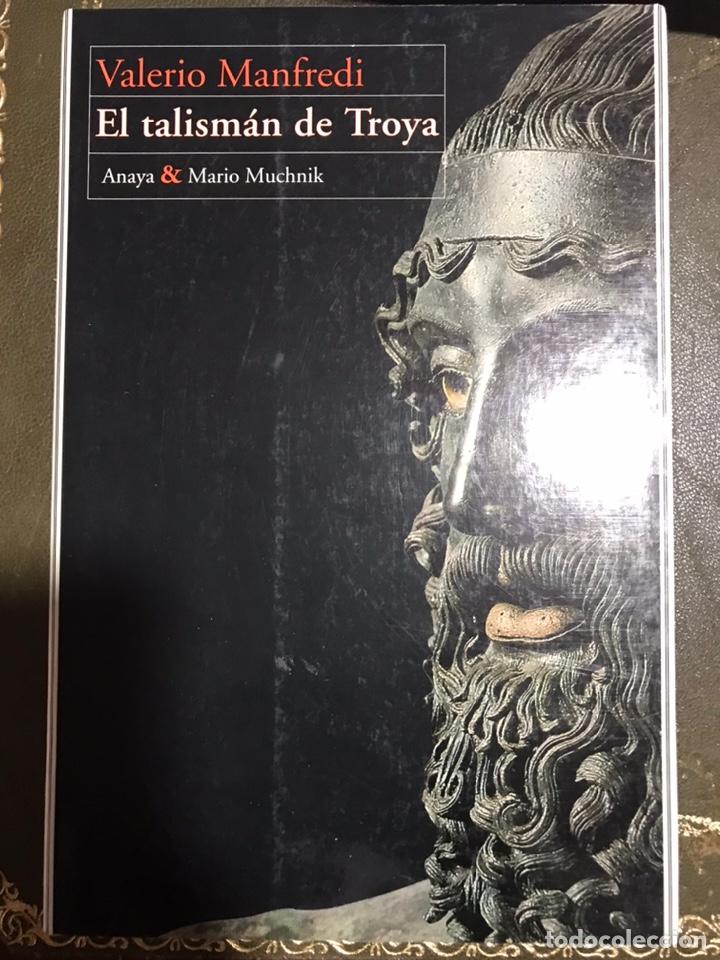 EL TALISMÁN DE TROYA VALERIO MANFREDI (Libros Nuevos - Narrativa - Novela Histórica)