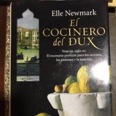 Libros: EL COCINERO DEL DUX ELLE NEWMARK. Lote 183612677