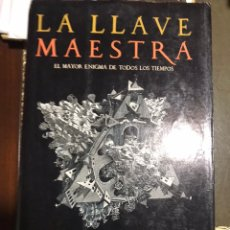 Libros: LA LLAVE MAESTRA AGUSTIN SÁNCHEZ VIDAL. Lote 183613000