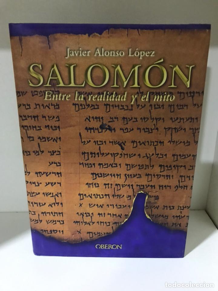 SALOMÓN JAVIER ALONSO LÓPEZ (Libros Nuevos - Narrativa - Novela Histórica)