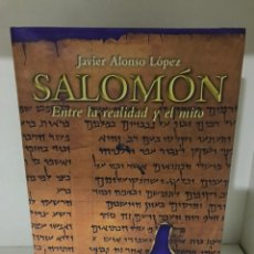 Libros: SALOMÓN JAVIER ALONSO LÓPEZ. Lote 183696148