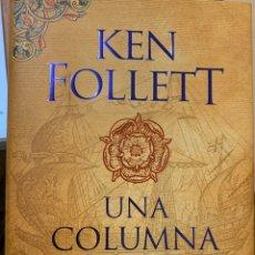 Libros: UNA COLUMNA DE FUEGO. Lote 186072721