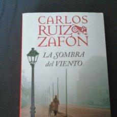 Libros: LA SOMBRA DEL VIENTO , CARLOS RUIZ ZAFON. Lote 190074387