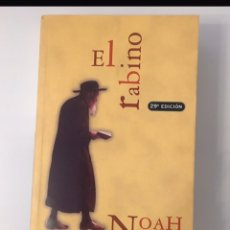 "Libros: NOVELA "" EL RABINO "" NOAH GORDON. Lote 190475865"