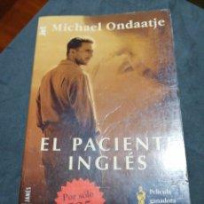 Libros: EL PACIENTE INGLÉS., MICHAEL ONDAATJE. Lote 190627825