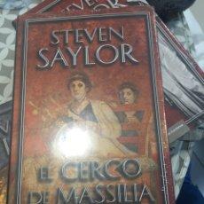 Libros: EL CERCO DE MASSILIA. Lote 190693078