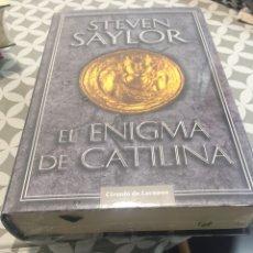 Libros: EL ENIGMA DE CATILINA DE STEVEN SAYLOR. Lote 190693313