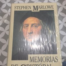 Libros: MEMORIAS DE CRISTÓBAL COLÓN DE STEPHEN MARLOWE. Lote 190693613