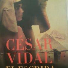 Libros: EL ESCRIBA DEL FARAÓN, DE CÉSAR VIDAL. Lote 191398175