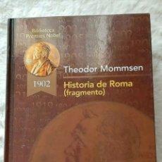 Libros: LIBROS BIBLIOTECA PREMIÓ NOBL EDICIONES RUEDA .TRILOGÍA DE TRES TOMOS PRÁCTICAMENTE NUEVOS.. Lote 192716286