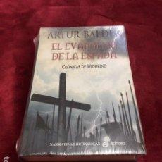 Libros: EL EVANGELIO DE LA ESPADA. WIDUKIND POR ARTUR BALDER ABSOLUTAMENTE NUEVO CON PLASTIFICADO DE FABRICA. Lote 193635888