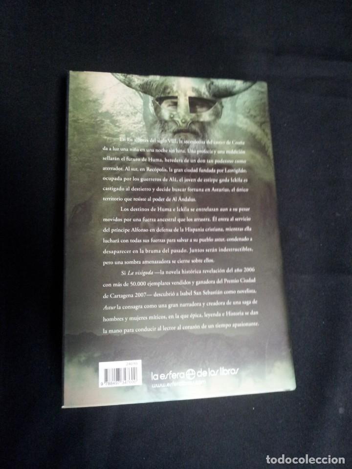 Libros: ISABEL SAN SEBASTIAN - ASTUR Y LA VISIGODA (EDICION ESPECIAL 2 TOMOS) - ESFERA DE LOS LIBROS 2009 - Foto 8 - 195295023