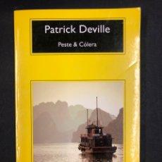 Libros: PESTE & COLERA - PATRICK DEVILLE - COMPACTOS ANAGRAMA 1ª ED. 2016 - NUEVO DE EDITORIAL. Lote 196511742