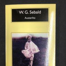 Libros: AUSTERLITZ - W.G. SEBALD - COMPACTOS ANAGRAMA 11ª ED. 2020 - NUEVO DE EDITORIAL. Lote 196520728