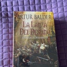 Libros: LA LANZA DEL DESTINO - DE ARTHUR BALDER - EDHASA - TAPA DURA - NUEVO DE FABRICA Y PLASTRIFICADO. Lote 197098320