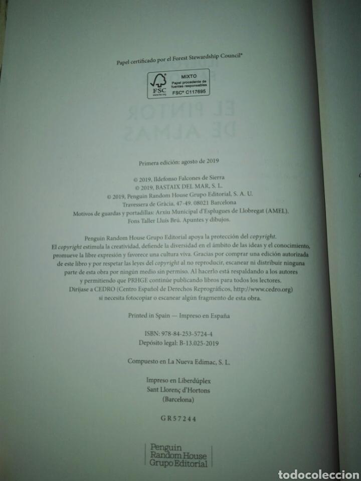 Libros: Ildefonso falcones. El pintor de almas. Grijalbo. Libro nuevo. Tapa dura. Primera edición - Foto 6 - 198045291